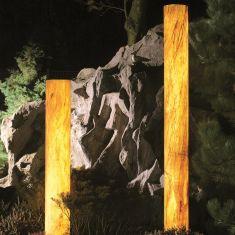 Epstein Sahara Turm mit Sandsteinbeschichtung, 5 Größen