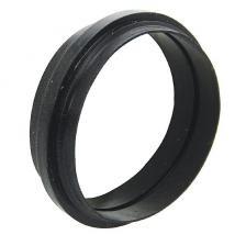 Ersatzdichtung für Außenstrahler aus Kunststoff in Schwarz