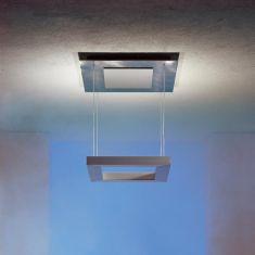 Escale Design Deckenleuchte Della Luna Aluminio