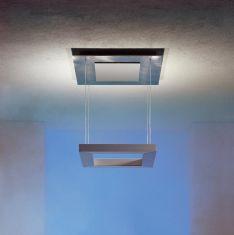 Escale LED-Deckenleuchte Della Luna Alumino