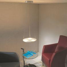 Escale LED-Pendelleuchte Avanti, Reflektor schwenkbar