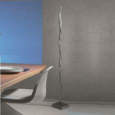 Escale LED-Stehleuchte Silk mit Tastdimmer, 170 cm