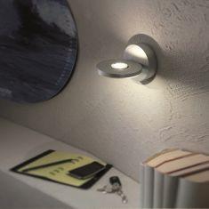 Escale LED-Wandleuchte Eos, Aluminium, 360° drehbar