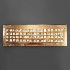 Exklusive Wand- oder Deckenleuchte - Handarbeit aus Italien - Blattgold - Kristallglas