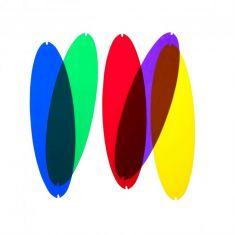 Farbfilter zur Queen Titania von Luceplan, viele Farben