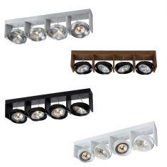 4 flammig LED-Strahler Zett LED von Lucide