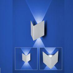 2 flammige B-Leuchten LED Wandleuchte Prince 2 x 1W LED