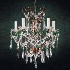Florentiner Kristall-Kronleuchter