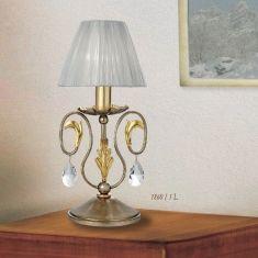 Florentiner Stil Tischleuchte 2 Oberflächenfarben