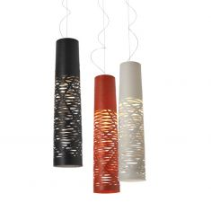 Foscarini Pendelleuchte Tress Sospensione Media, 3 Farben