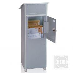 freistehender Briefkasten feuerverzinkt Stahlblech, hochwertig