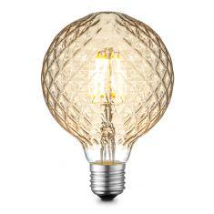 G95 LED Filament Leuchtmittel 4W E27 2700K