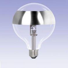 G95, Globe, Ringspiegel-silber, E27, 42 Watt entspricht 60 Watt