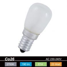 Glühlampe Special  CO26 E14 25W innenmattiert, 190lm