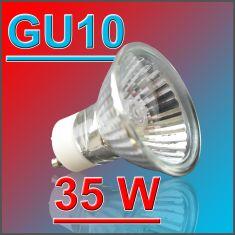 GU10 Halogenleuchtmittel 35W - 36° Abstrahlwinkel