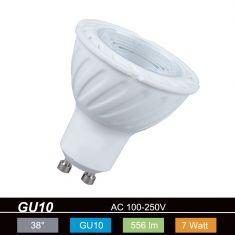 GU10 LED 7W 2700K, 556lm, nicht dimmbar