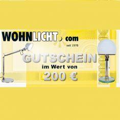 Gutschein über 200 EURO