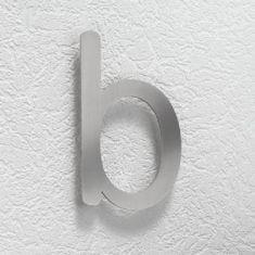 Hausnummer b aus Edelstahl, klein