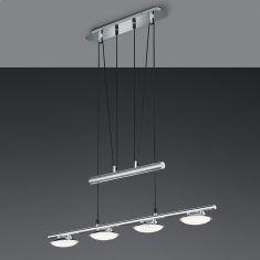 Höhenverstellbar LED-Pendelleuchte Pilatus  4-flammig