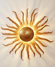 Holländer Handgefertigte Wandleuchte - Sonne Gigante