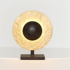 Holländer Tischleuchte Eclipse K strukturiert Eisen