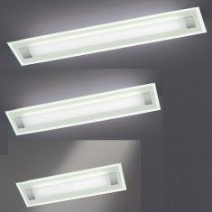 Hufnagel LED-Deckenleuchte Xena L mit Glas, 3 Größen