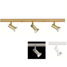 Hufnagel LED-Decken-Strahlerbalken, 3 Oberflächen