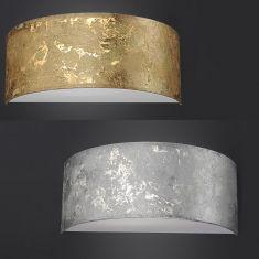Hufnagel LED-Wandleuchte Alea halbrund