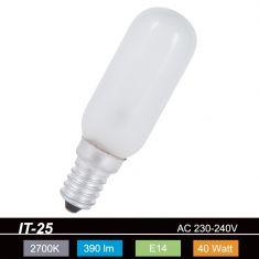 IT-25 Röhre Größe 4  matt  E14  40W