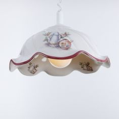 Küchenlampe  mit Spiralkabel
