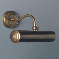 Klassische Bilderleuchte, 22 cm - verschiedenen Oberflächen