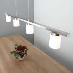 Klassische Pendelleuchte - Modern mit LED bestückt - 4-flammig
