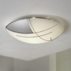 Klassische Wand/Deckenleuchte mit modernem Flair - inklusive LED
