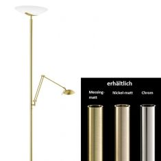 Knapstein LED Deckenfluter mit Lesearm
