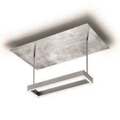 Knapstein LED-Deckenleuchte in 3 Oberflächen, LED 40W