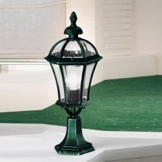 Kolarz Sockelleuchte Westminster in antik-grün 65 cm