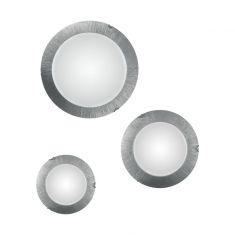 Kolarz® Deckenleuchte Moon 3-flammig für E27 Sun Silver