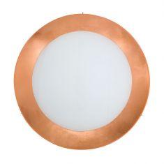 Kolarz® Deckenleuchte Serena 4-flammig in Leaf Copper Ø 50cm