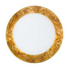 Kolarz® Deckenleuchte Serena 4-flammig in Medici Gold Ø 50cm