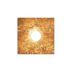 Kolarz® Deckenleuchte Square 1-flammig in Vintage Gold