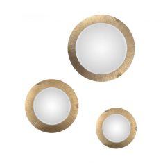 Kolarz® LED-Deckenleuchte Moon Sun Gold in drei Größen