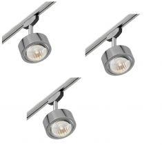 Komplettpaket Lumexx Magnetline LED-Spot Hugo mit Zubehör
