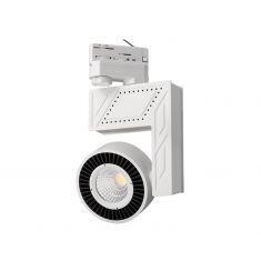 Komplettpaket 3 Phasen LED-Strahler inklusive Schiene und Zubehör
