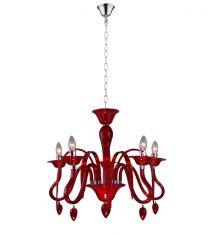 Krone Baya, verzauberndes Licht für höchste Wohnansprüche, Rot