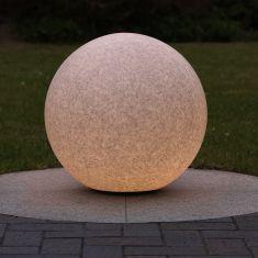 Kugelleuchte in Granit-Optik, Ø 50cm, inkl. 6 W LED