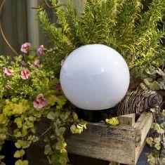 Kugelleuchte Light 20 cm - mit Gummizuleitung und Stecker