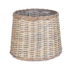 Lampenschirm für Stehlampen Korbgeflecht braun natur