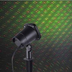 Laser LED Außenstrahler mit Showeffekt
