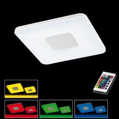 LED Deckenleuchte in Acryl weiß matt inkl. 30W LED