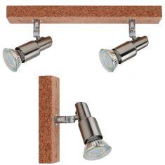 LED Deckenleuchte Classic Kork in vier Varianten
